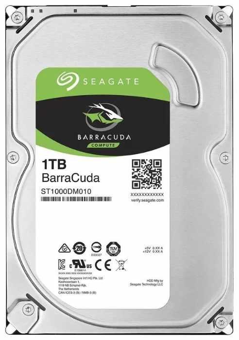 Жесткий диск Seagate Barracuda 1 TB